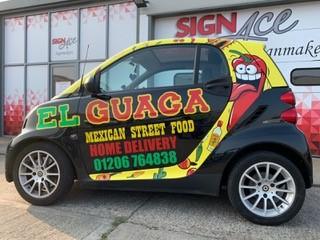 Delivery service El Guaca Colchester